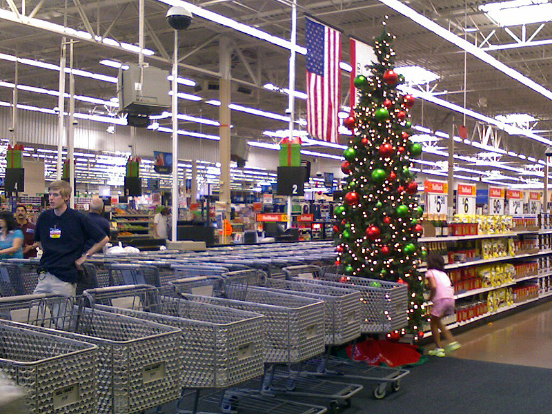 wal mart 2008 christmas decorations