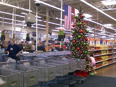 Wal-Mart 2008 Christmas Decorations
