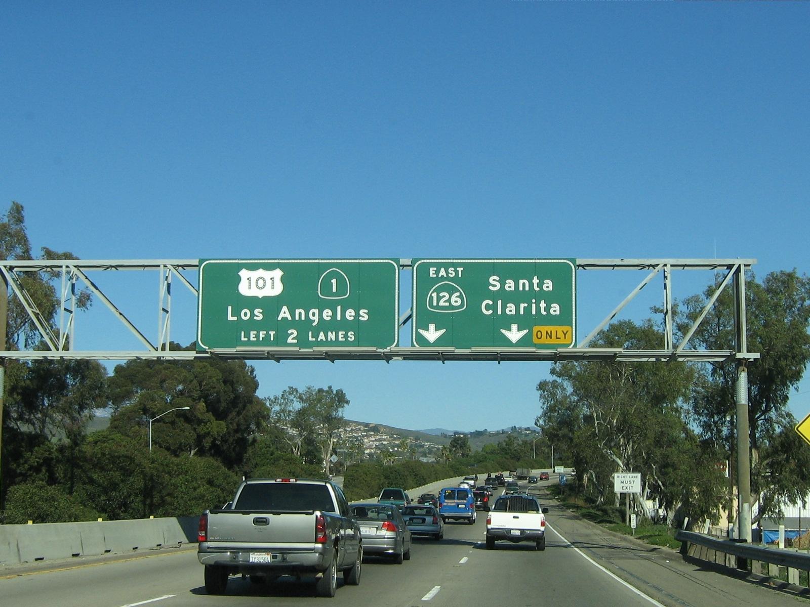 Merging Onto Highway 126 East Towards Santa Clarita 080119_17_hwy_126_east_1