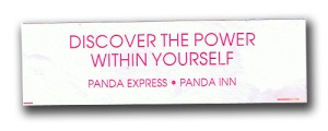 Fortune Cookie: Discover the Power within Yourself