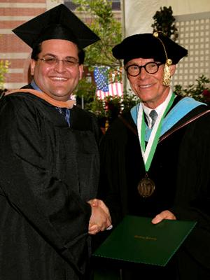 Matthew A. Gilbert, MBA -- Graduation Ceremony at Woodbury University